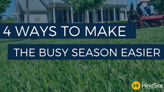 4 Ways to Make the Busy Season Easier