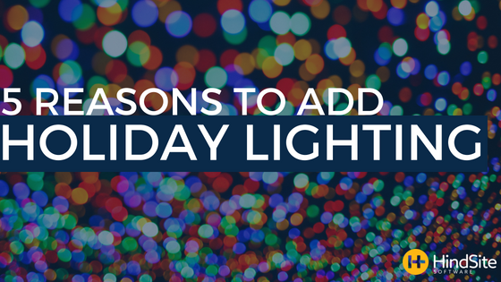 5 Reasons to add holiday lighting