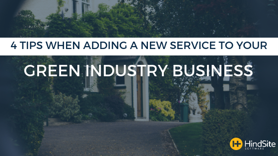 Adding a new service to your lawn care business
