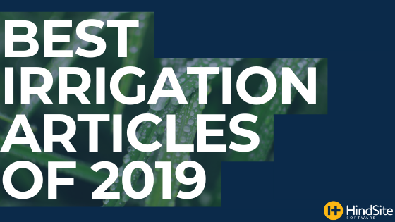 Best Irrigation Articles of 2019