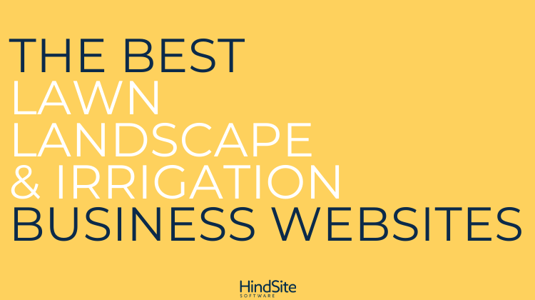 Best Lawn, Landscape & Irrigation Business Websites