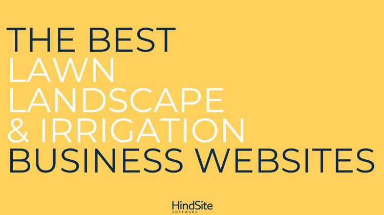 Best Lawn, Landscape & Irrigation Business Websites