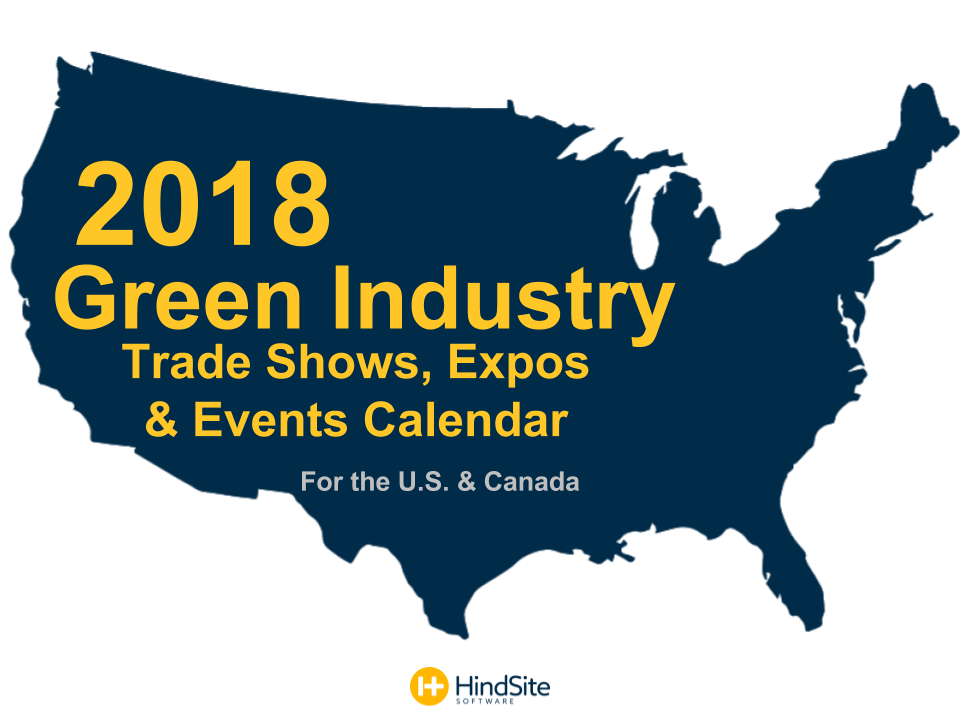 2018 Events Calendar Green Industry UpdatedDRAFT.pptx