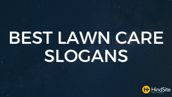 Best Lawn Care Slogans, Ever