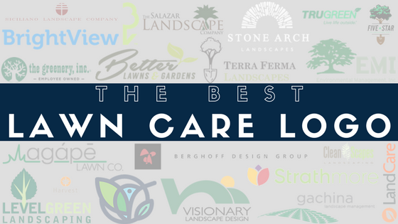 the best lawn care logos