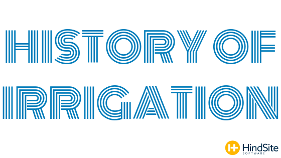 History of Irrigation Title