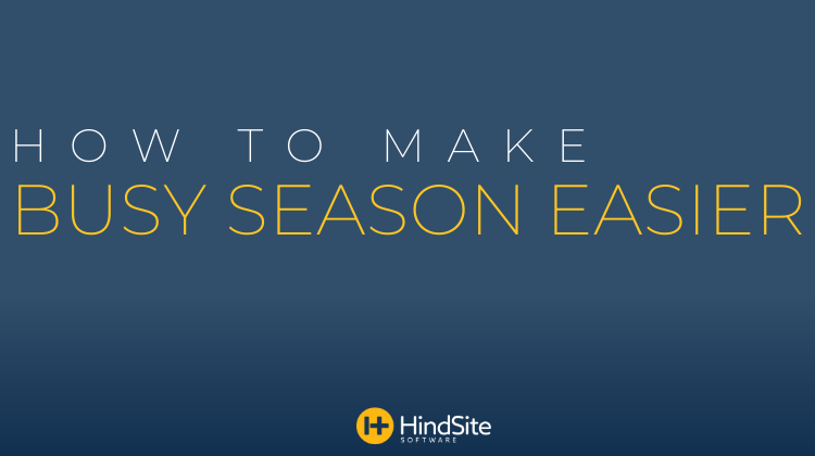 How to Make Busy Season Easier