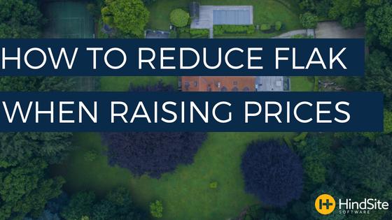 How to reduce flak when raising prices
