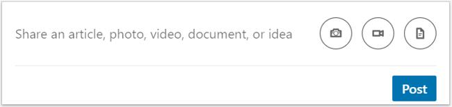 LinkedIn Content Share Capture