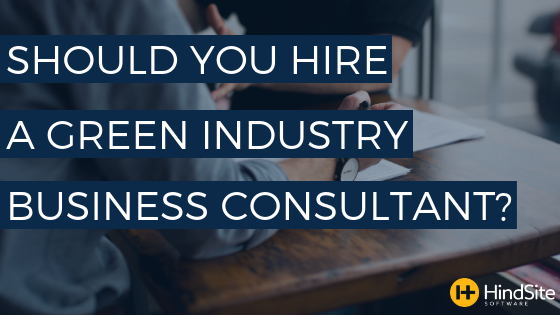 Should you hire a green industry business consultant