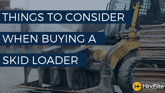 Things to Consider When Buying a Skid Loader
