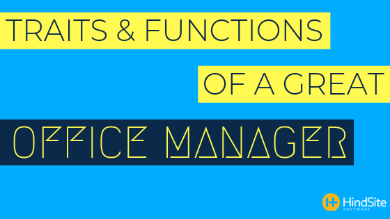 Traits & Functions of a Great Lawn & Irrigation Office Manager