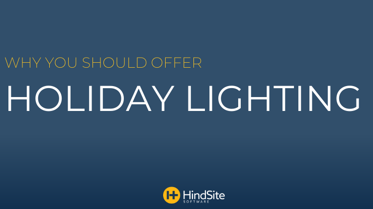 Why You Should Offer Holiday Lighting
